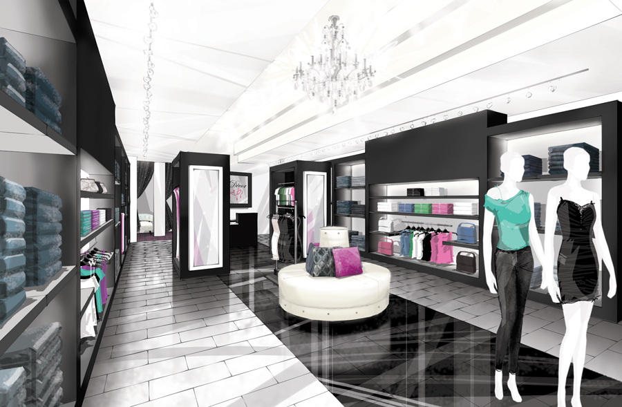 I rendering architectural for Boutique design consultancy